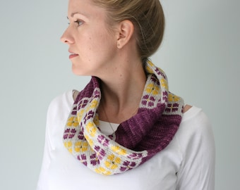 Anthos Cowl PDF KNITTING PATTERN