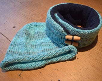 Hat & Nnoodle Set Aquas