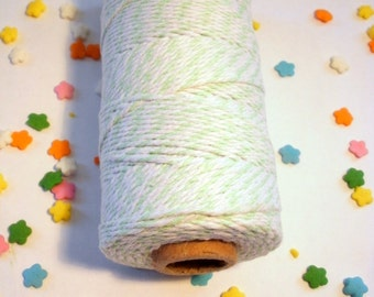 Thick Bakers Twine Mint Green - 100 yard Spool - 12 ply