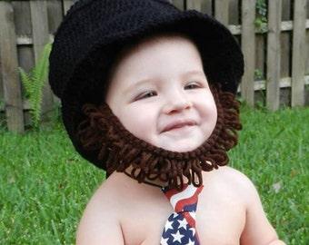 Abraham Lincoln Abe Beard Hat  sc 1 st  Etsy & Lincoln baby | Etsy