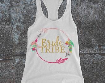 Bachelorette Bride Tribe Tank, Bride Tribe, Bachelorette party, wedding