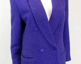 Vintage Purple Blazer Tp4GxynKun