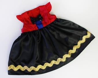 Baby Girl Ringmaster Ringleader Lion Tamer Circus Party Dress Costume - Sz 1 - Handmade Ready to Ship
