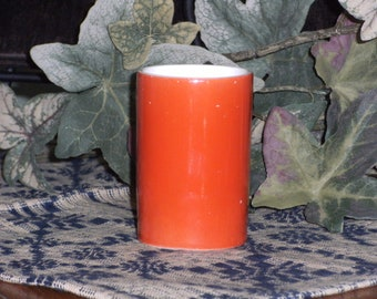 Vintage Red Bud Vase