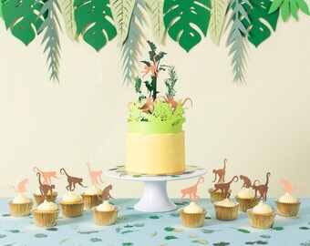 Jungle Party Package - Jungle Party Pack - Jungle Baby Shower - First Birthday Ideas - Jungle Party Ideas - Party Decoration Kit - Party Kit