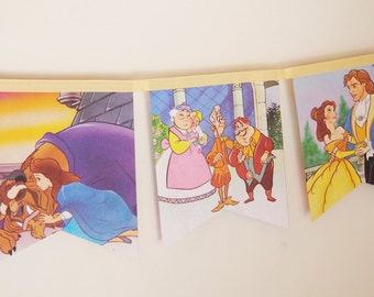 Beauty and the Beast  Bunting