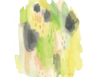 It's My Party Watercolor Giclee Print