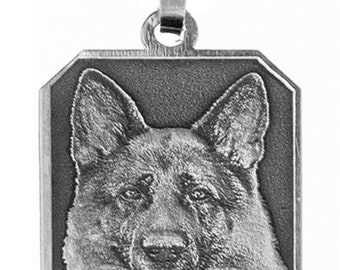 925 silver 8kant pendant with your photo in 3d laser flat embossed engraving.