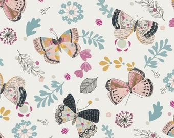Whisper Butterfly Fabric; Quilting Cotton [[by the half yard]]