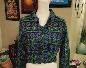 Vintage 80s Rodeo Western Wear Jacket
