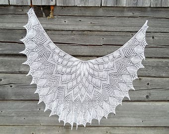 white shawl, lace shawl, bridal shawl, wedding shawl, knit shawl, wedding wraps, evening shawl