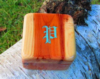 Wood Ring Boxes with Customization Options
