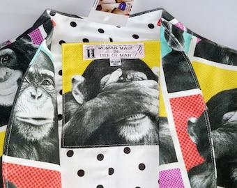 """M Cotton """"Monkey Business"""" Bolero Jacket"""