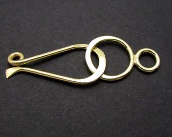1 Set, Gold Vermeil Clasp