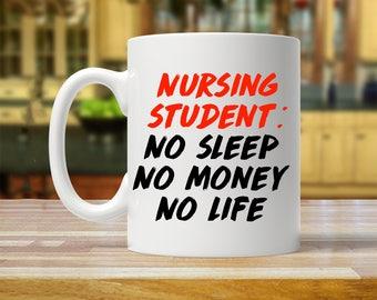 nursing student mug, nursing student, nursing student gift ideas, nursing student gifts, mug for nursing student, funny nursing student mug