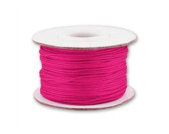 0.5, 0.8 mm or 1 mm - 10 m Nylon string Fuchsia