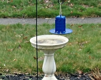 Tardis bird feeder Doctor Who