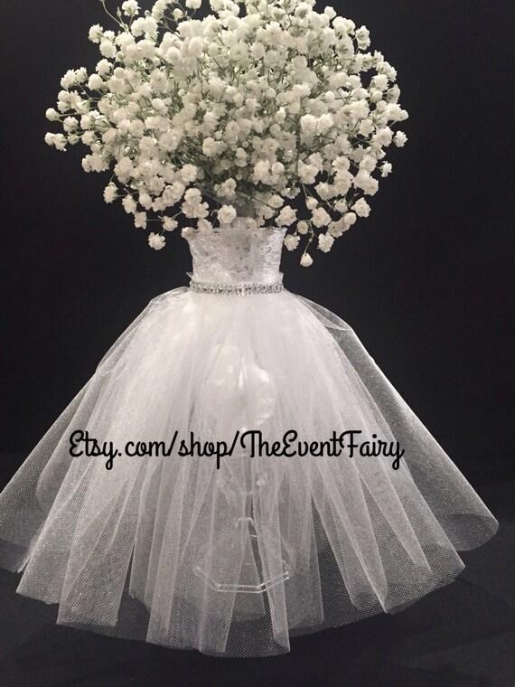 Centerpiece Wedding Dress Vase