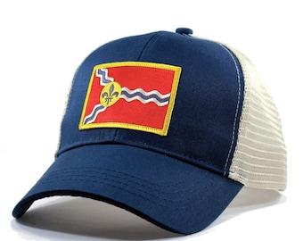 Homeland Tees St Louis Flag Hat - Trucker