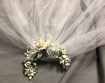 First communion head piece