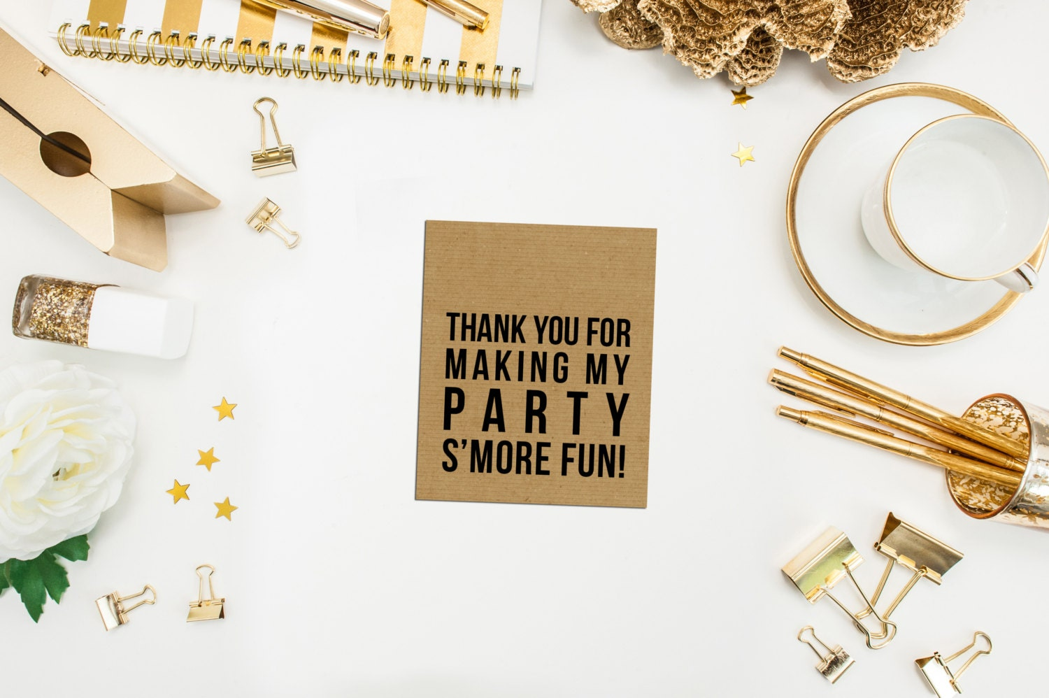 Thank You for making my Party S\'more Fun Tags. Smore Party Tags ...