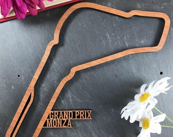 Monza Grand Prix Circuit - Wooden Monza Grand Prix Circuit. Perfect for Monza Grand Prix Circuit lovers. Monza Grand Prix Circuit obsessives