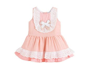 Girls Summer Dress, Girl Dress, Toddler girl outfit, Special Occasion Dress, Classic girl outfit, Toddler dress, Size 6,9,12 months