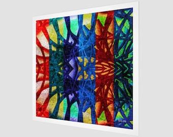 Rainbow Connections Fine Art Print