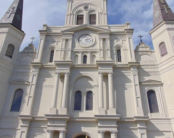 St. Louis Cathedral at Jackson Square in New Orleans French Quarter