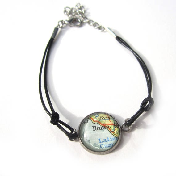 World map bracelet - Europe variations
