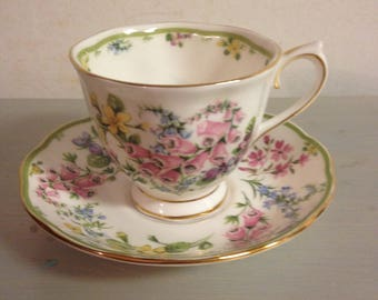 Teacup and Saucer/ Royal Albert/ Bone China