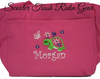 Free Shipping - Personalized Turtle Lunch Bag - More Colors - monogrammed - NEW