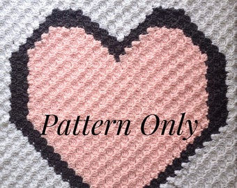 Made With Love Corner To Corner Crochet Blanket Pattern