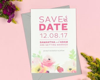 Lucy Wedding Save The Date cards