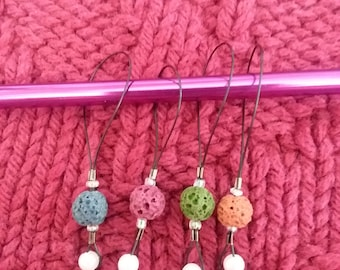 Beaded Stitch Markers forEssential Oil