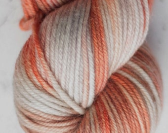 Sparkle Sock Yarn, Dangerous Carrot