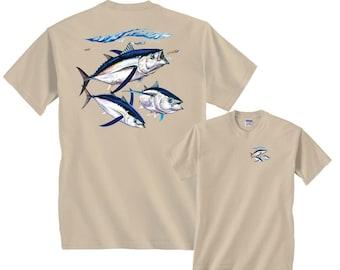 Albacore Fishing Yellowtail Yellowfin T-Shirt