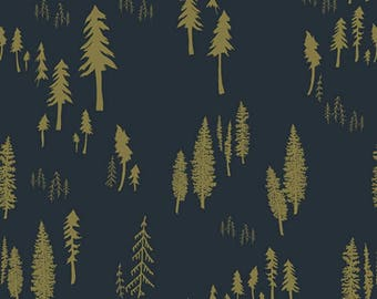 Timberland Woodlands 'Woodlands Fusion' by Bonnie Christine - Art Gallery Fabric Quilting Cotton 1/2 Yard+