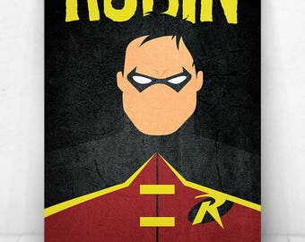 Robin Poster - Illustration  / Robin Poster / Robin / The Boy Wonder