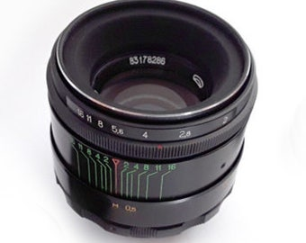 Helios 44-2 58mm F2 Russian Vintage Lens for M42
