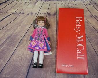 Betsy McCall doll Irish Dancing with box