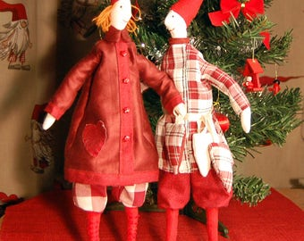 Gnomes. Christmas gnomes. Scandinavian gnomes. Tilda gnomes.