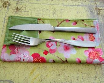 Handmade Cloth Napkins, Dinner Napkins, Table Linens, Cloth Napkins, Chevron Style, Servilletas