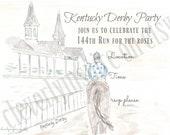 Kentucky Derby Party Invi...