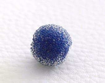 Pearl effect sugar 13 mm dark blue color