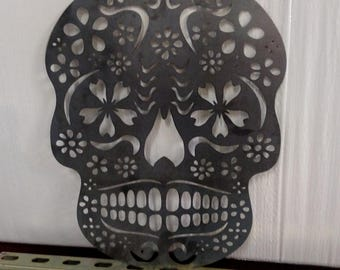 Day Of The Dead Skull Wall Hanging