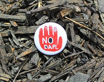 No DAPL - Pinback or Magnet Button or Badge Reel