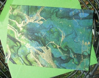 Greeting Cards - Forest Marble - (Set of 10)