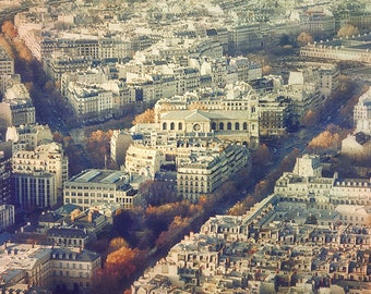 Paris Rustic Print,Fall in Paris,Paris Photography,Paris Rooftops, City Prints,Fine Art Photography,Architecture Photography,Gifts for Dad