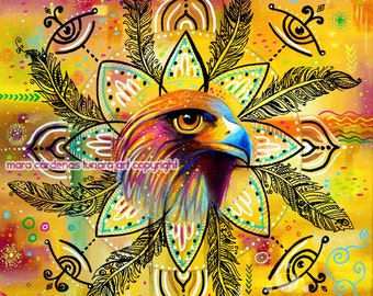 Eagle Medicine Mandala